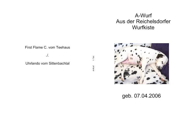 Fotobuch A-Wurf
